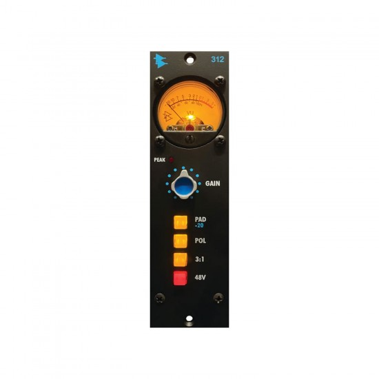 API 312 500 Series Microphone Preamp