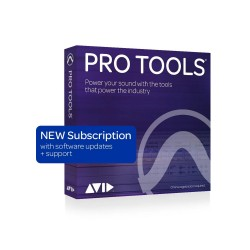 Avid Pro Tools with 1 Year of Updates + Support Plan - 1-year Subscription (Download)