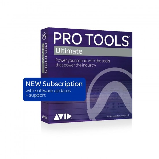 Avid Pro Tools   Ultimate with 1 Year of Updates + Support Plan - 1-year Subscription (Download)