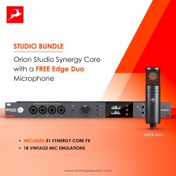 Antelope Audio Orion Studio Synergy Core - a complimentary Edge modelling mic is included free!