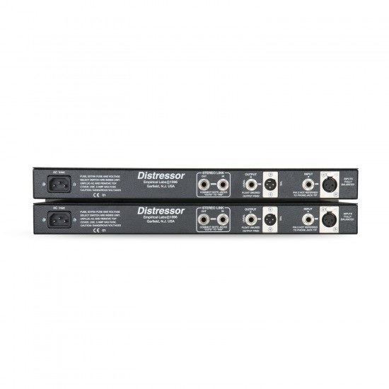 Empirical Labs EL8-XS Distressor with British Mode and Image Link - Stereo Pair