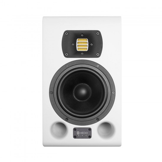 HEDD Type 07 MK2 2-Way-Studio Monitor with 7 inch Woofer and High-Resolution HEDD AMT Tweeter - White