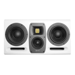 """HEDD Type 30 MK2 3-Way-System with 2×7""""+4"""" Woofer and High-Resolution HEDD AMT Tweeter - White"""