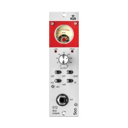 IGS Audio 572 Red Strip Tube Preamp in a 500-series module