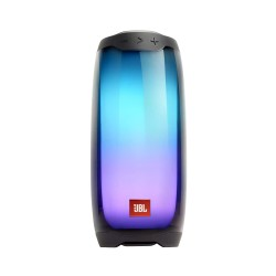 JBL Pulse 4 Portable Bluetooth Speaker with 360-Degree LED Lightshow,12Hours Playtime, PartyBoost & IPX7 Waterproof (Black)