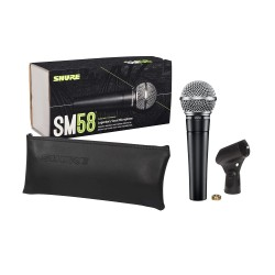 Shure SM58 Cardioid Dynamic Vocal Microphone