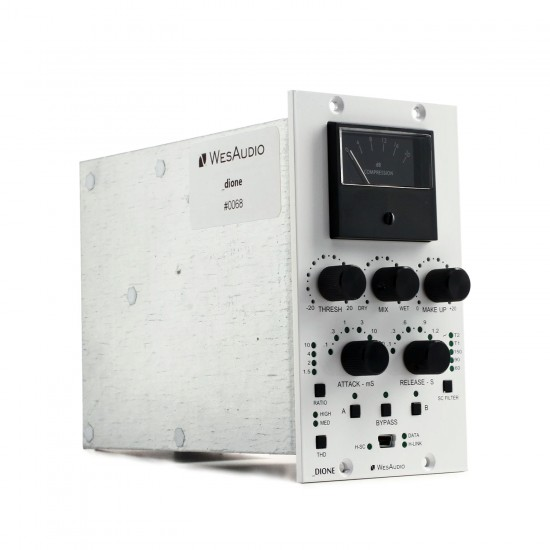 WesAudio DIONE NG500 500 Series Analog Bus Compressor with Digital Recall