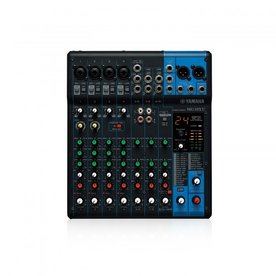 Yamaha MG10XU 10-channel Mixer with USB and FX